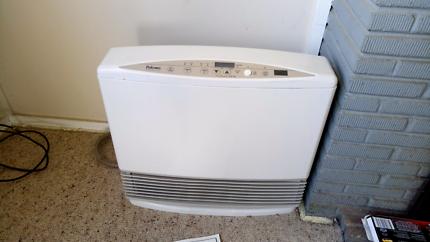 Unflued portable gas convection heater
