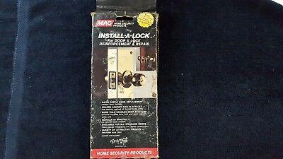Mag Security 1-pb Door Lock Reinforcement 1 38 Door 2 38 Bs
