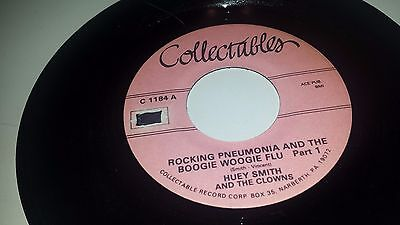 Huey Smith Rocking Pneumonia And The Boogie Woogie Flu Collectables 1184 45 7