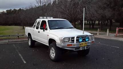 1998 Toyota Hilux 4x4 City North Canberra Preview