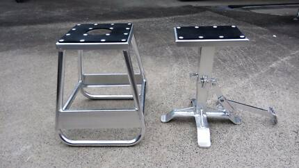 Motorbike stands, plenty for sale