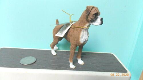 Boxer Dog Figure