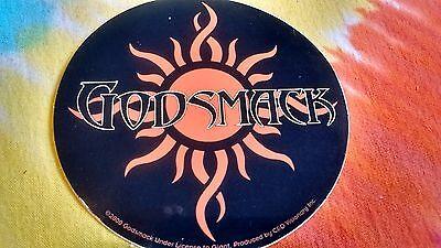 Godsmack Orange Sun Logo 4 inch Sticker