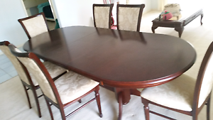 FORMAL DINING TABLE -AS NEW Heritage Park Logan Area Preview