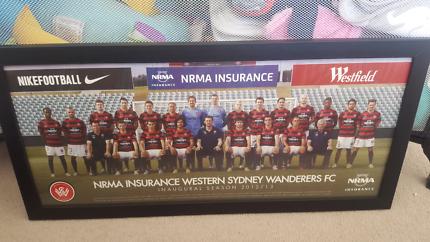 Western sydney wanderers fc framed photo