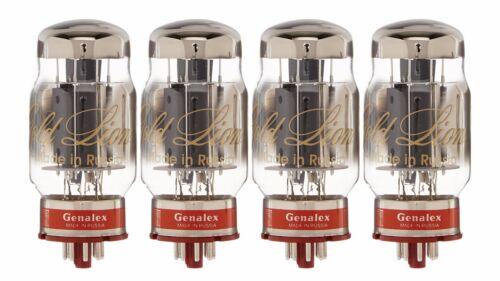 New 4x Genalex Gold Lion KT88 | Matched Quad / Quartet / Four Tubes | Free Ship