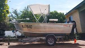 Tinnie / Tinny - 4.2 m with 40 hp outboard and much more Toowoomba Toowoomba City Preview