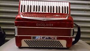 PIANO ACCORDION EXCELSIOR 120 BASS MADE IN ITALY Epping Whittlesea Area Preview