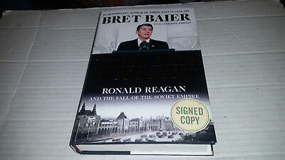 Three Days In Moscow By Bret Baier  2018  Hardcover  Signed 1St 1St