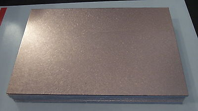 1 Pc Double Sided Copper Clad Circuit Board Laminate Fr-4 .036 8 X 12 3 Oz.