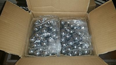"200 OEM 1-1/16"" Mirror Finish Carbon Steel Pinball Machine Balls FRESH STOCK New"