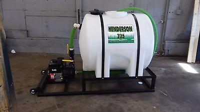 225 Gallon Henderson Hydroseeder