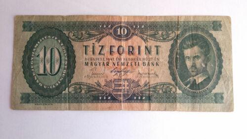 Hungary 10 Forint 1947 F+
