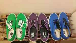 Vans shoes, worn once each.  Size 8.5 and 8s Albion Brimbank Area Preview