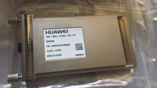 New Huawei Cfp 100g 40km 1310nm Sm 100gbase-er4 Smf 40km 1310nm Lc Smf 0m9550e