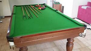 8x4ft slate billiard table for sale Rochedale South Brisbane South East Preview