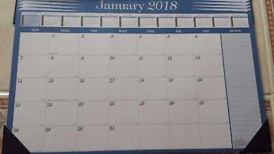 2018 Desk Pad Calendar Monthly Desk Blotter 11  X 17