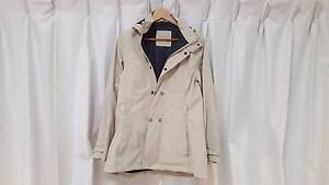 Kathmandu Womens Slim Fit Waterproof & Windproof Jacket Cream 10 Chermside Brisbane North East Preview