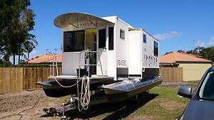 Unique Houseboat/Caravan on trailer with 2x4m slide-outs Noosaville Noosa Area Preview