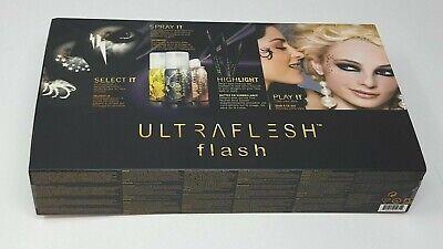 Cheap Makeup Kits (Ultraflesh Flash Face Decorating Kit 15-Piece Set NEW IN BENT)