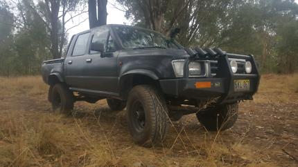 1992 4x4 diesel hilux for sale or swap
