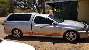 Ford Falcon 2005 BAII Magnet XR8 Auto Ute Geraldton Geraldton City Preview
