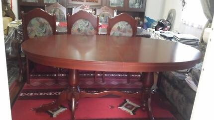 Dining Table With 6 Chairs 25000 Liverpool