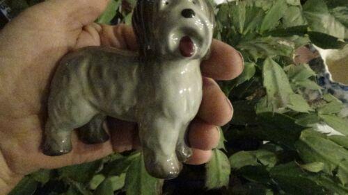 Cute Vintage Midwinter Old English Sheepdog  Burslem England