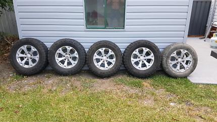 Mitsubishi Triton Rims & Tyres