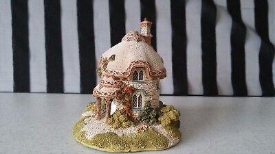 Lilliput Lane Titmouse Cottage w/Box & Papers Geraldine Graham Signed