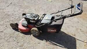 "Electric Start Self Powered Lawn Mower Toro 30"" TimeMaster"