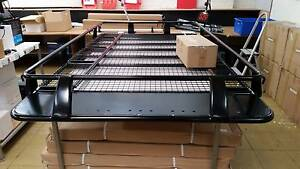 100 series Full Length Steel Roof Rack Heavy Duty Landcruiser 4wd Moorabbin Kingston Area Preview