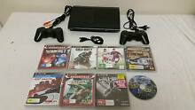 SONY Playstation 3 PS3 Slim 500gb, 2 controllers,8 games cords an Holden Hill Tea Tree Gully Area Preview
