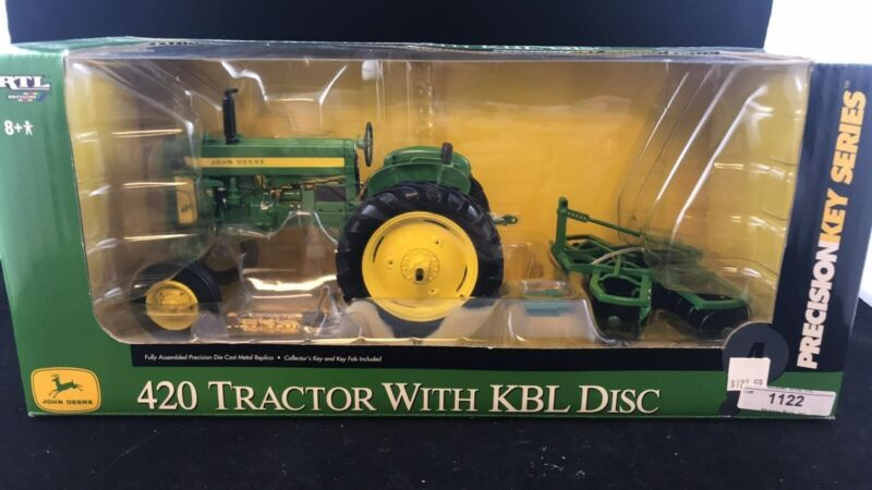 JOHN DEERE 420 PRECISION KEY SERIES #4 TRACTOR WITH KBL DISC