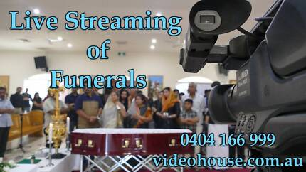 live streaming of funerals