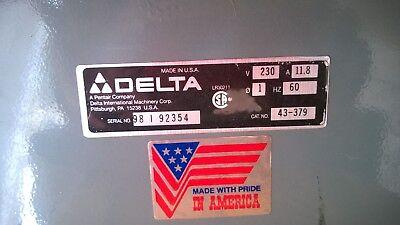 Delta Heavy Duty Wood Shaper Cat No. 43-379 . Used Very Little