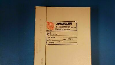 5 Pcs 4672 Jw Miller Fixed Inductors 10mh 5