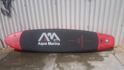 Aqua marina Blow up Stand up paddle bored
