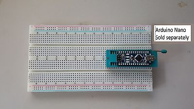 Fcb Usa Zif Socket Large Arduino Nano Breadboard