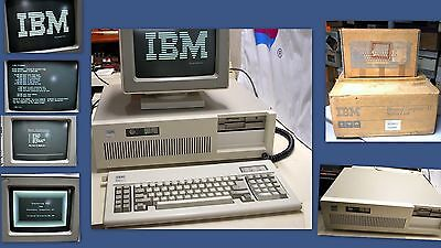 Ibm 5170 At Computer In Original Box  See Pics  Ships Worldwide