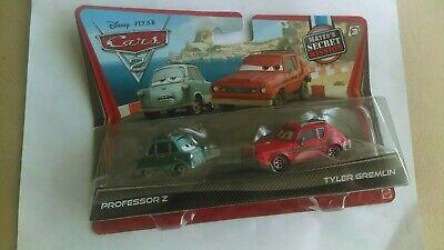 Disney Pixar Cars Diecast Rare Lot of 2 Professor Z & Tyler Gremlin