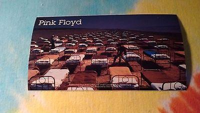 Pink Floyd Beds 3.25 x 6 Inch Sticker