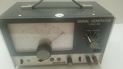 Leader Electronics Lsg-16 Signal Generator Works