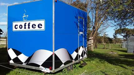 Mobile Events Trailer - Eyecatching and Ready to Go