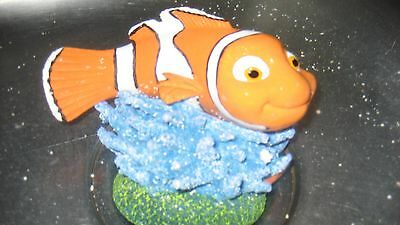 "Nemo Clown Fish Aquarium Ornament  Fish Tank Disney Pixar Decoration 3.5"" 9cm"