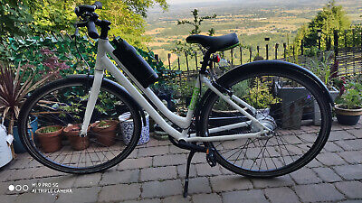 Gtech City Step Through Electric Bike, Superb Condition Ladies Ebike, Hardy Used