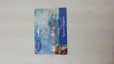 DISNEY FROZEN SPLASH SWIMMING GOGGLES BLUE AND PURPLE AGES 4+ Blue Swimming Goggles