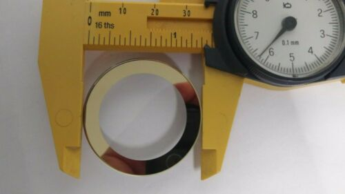 for Movado BOLD crystal replacement round GOLD trim 36.3x1.50mm new