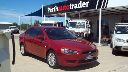 2010 MITSUBISHI LANCER ES 4 DOOR SEDAN Kenwick Gosnells Area Preview