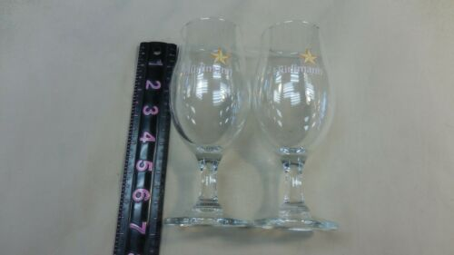Two Hurlimann Drinking Glass 2 Deca Liters German Drinking Glass